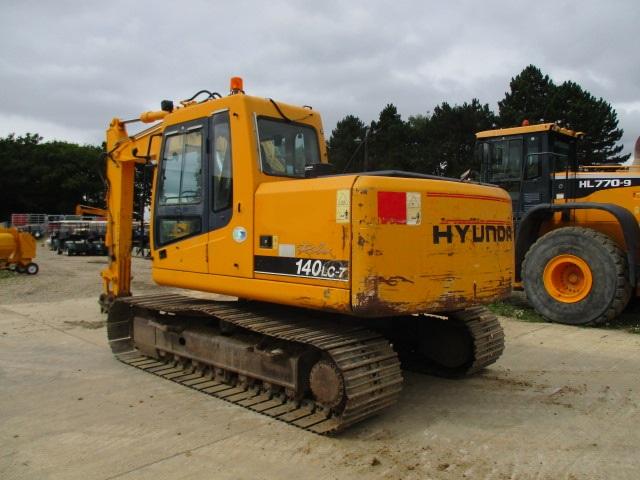 Hyundai 140 excavator Manual