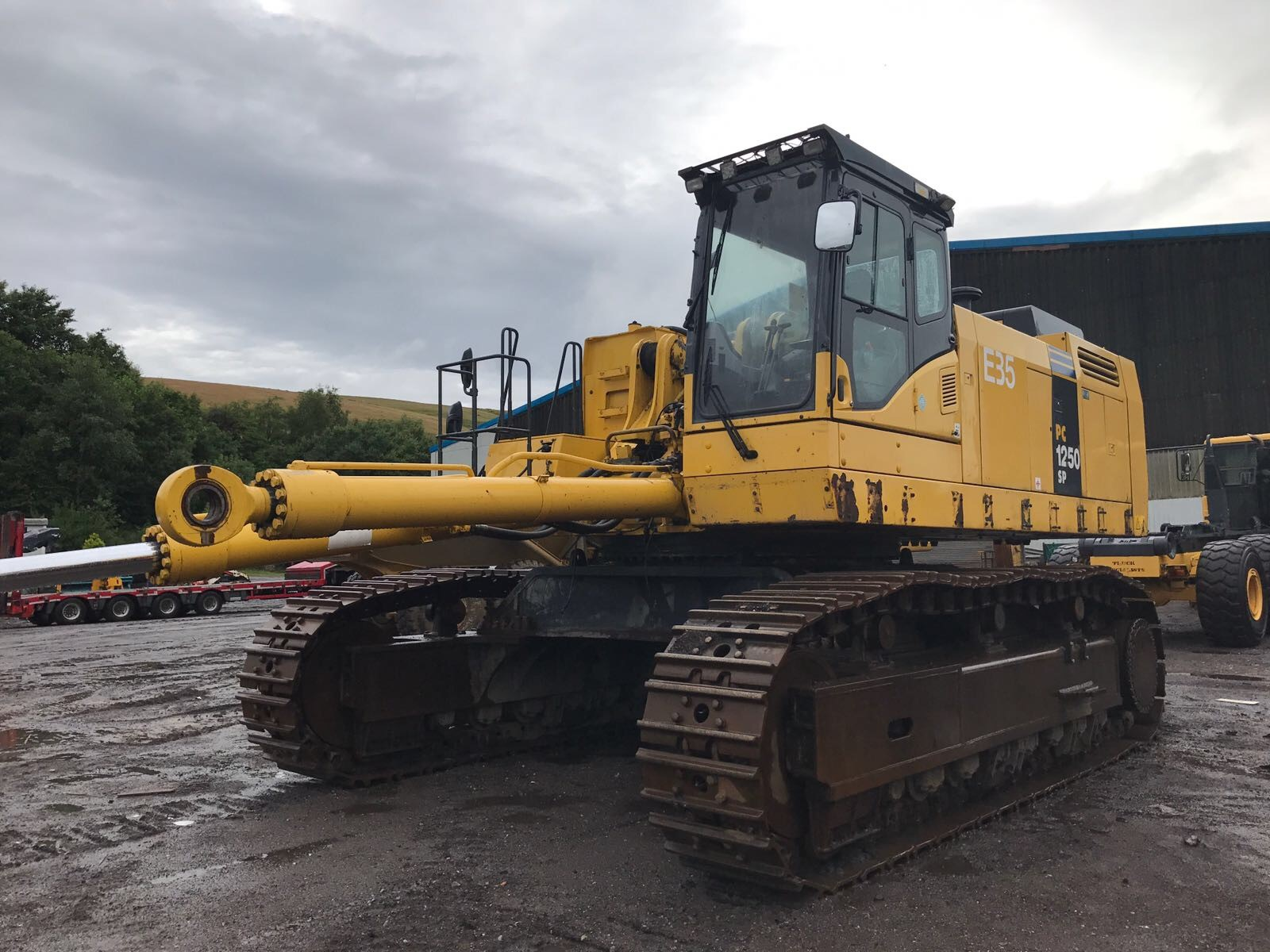 used komatsu pc12508 sp for sale omnia machinery