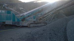 Wide view of conveyor