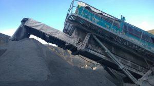 Close up of conveyor