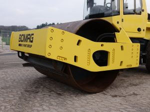 Side view of Bomag BW219