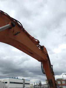 Excavator boom