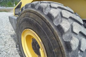 Close up of the tires