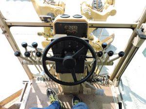 Steering inside cabin