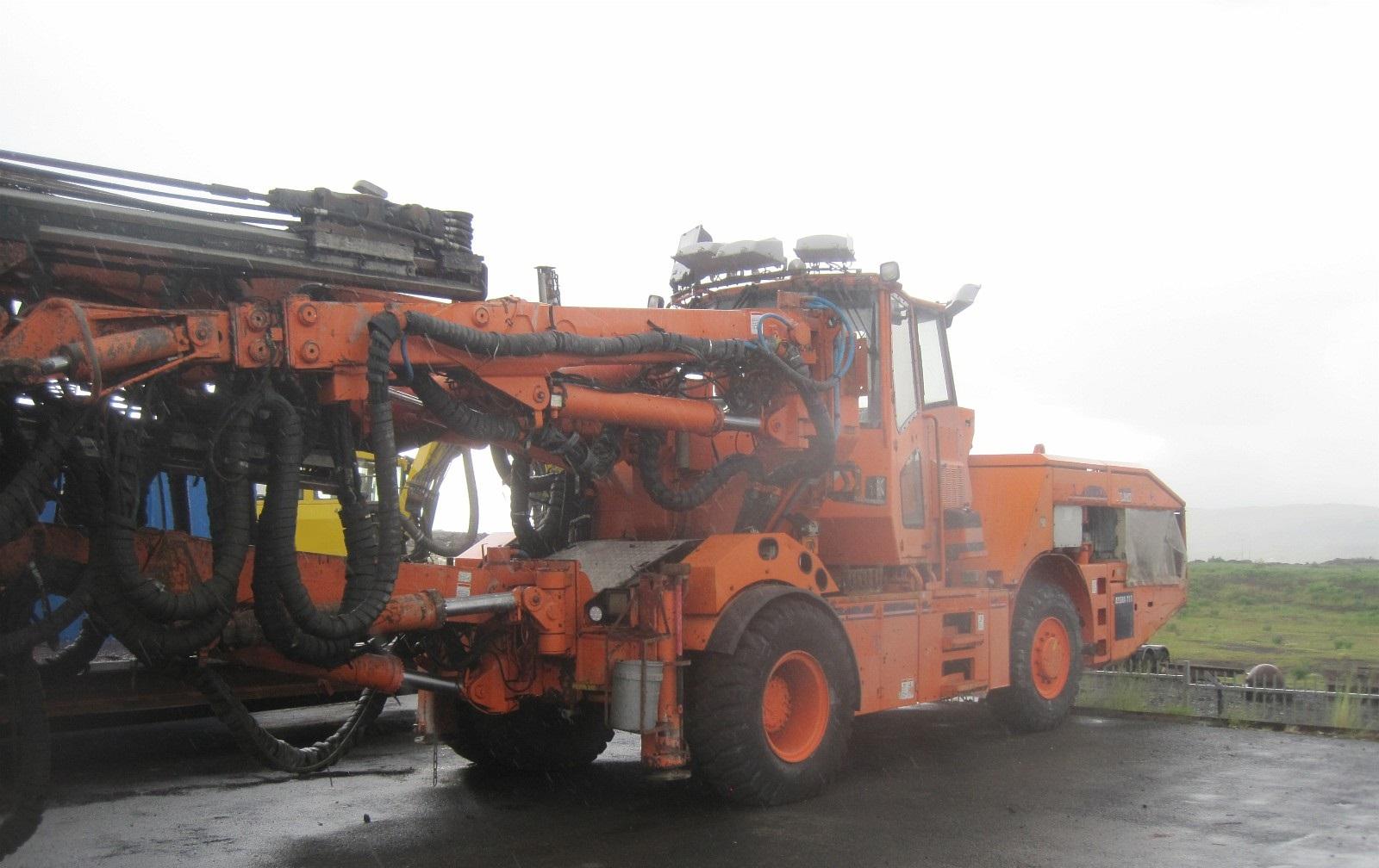 Tamrock Axera T11 Omnia Machinery