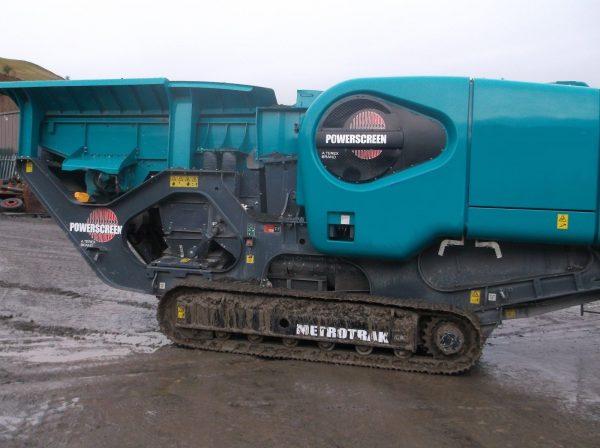 Powerscreen Metrotrak HA Machine