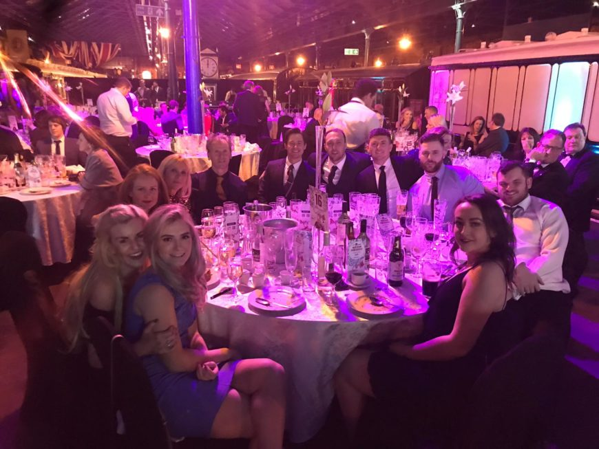 Omnia Machinery at the Northern Powerhouse Exports Awards ceremony.