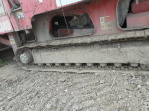 Close up of tracks (4)