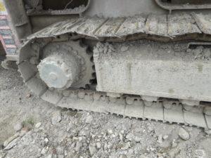 Close up of tracks (2)