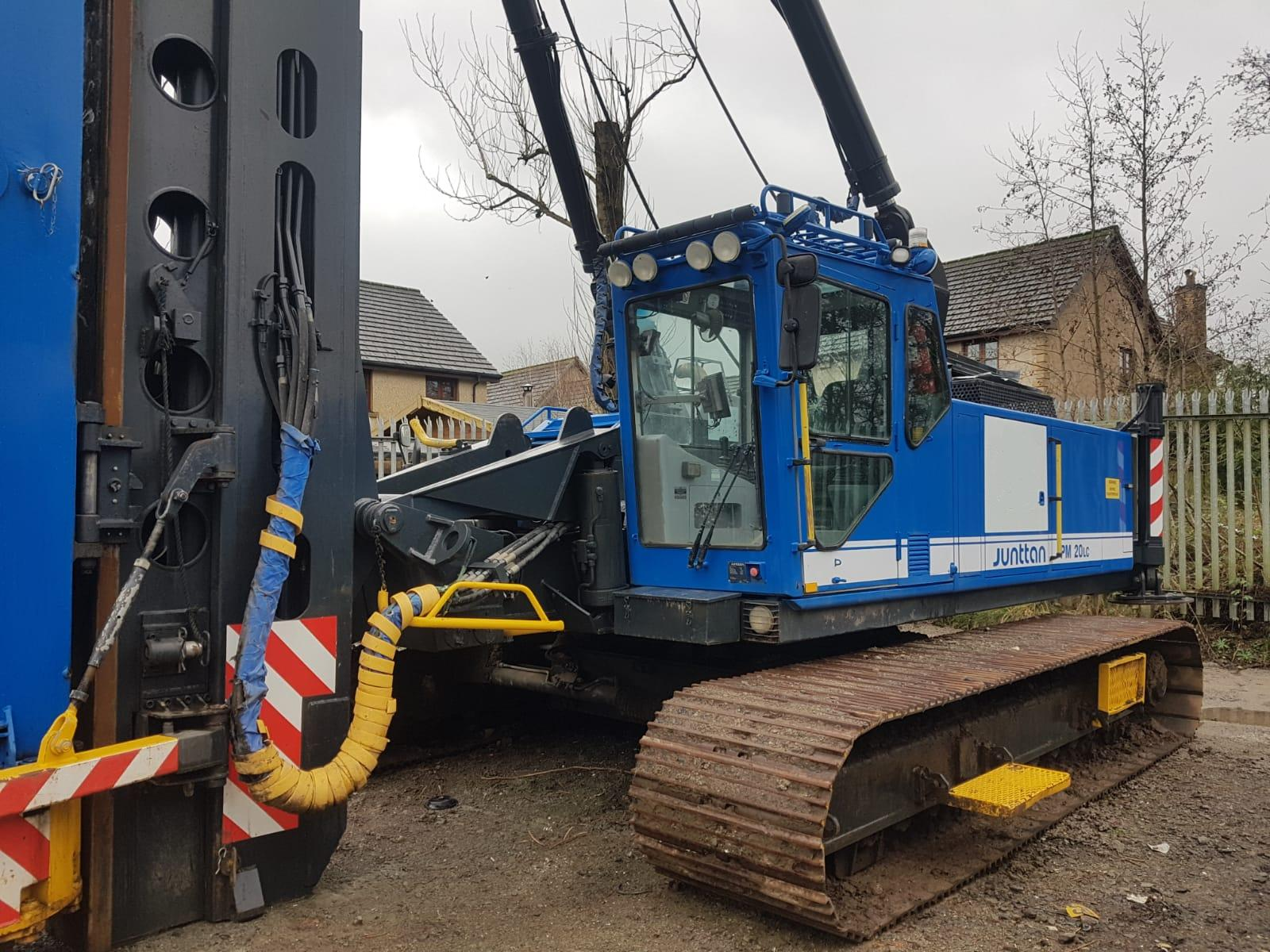Used Junttan Pm20 Lc Hammer Piling Rig For Sale Omnia