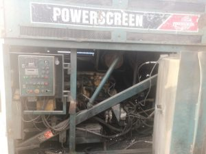 Powerscreen 1800 Powershredder