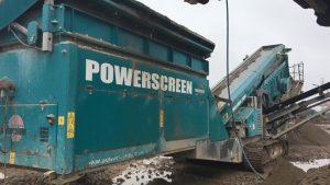 Powerscreen Chieftain 2100X
