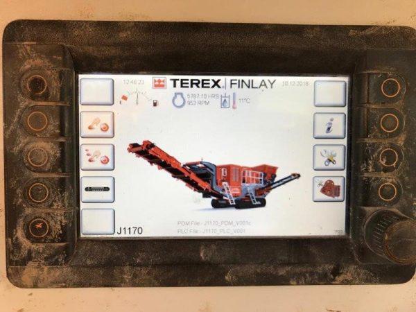 Terex Finlay Machine J-1170