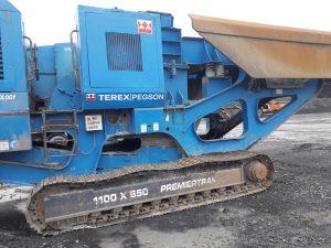 Terex Pegson 1100 x 650 Premiertrak