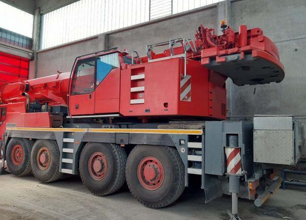 Liebherr LTM Machine 1090-4.1