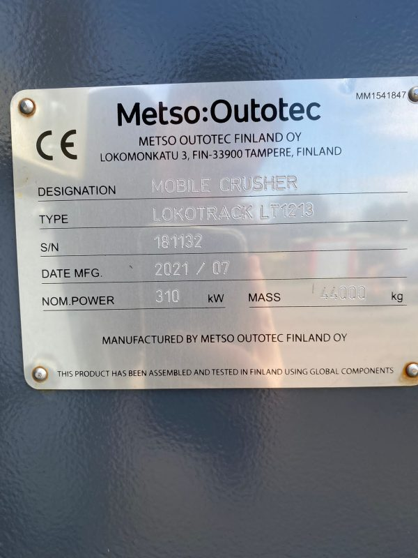 Metso LT1213